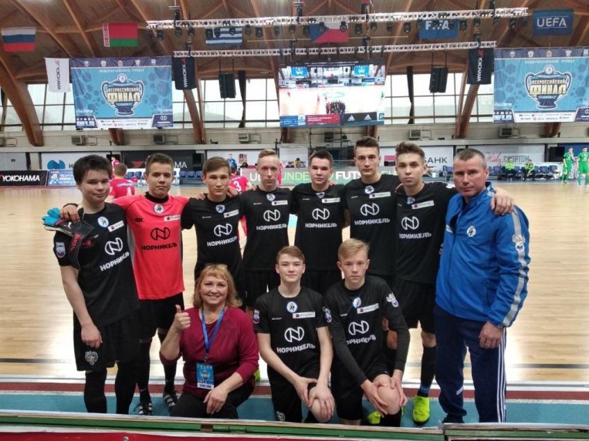 СОШ №61 Чебоксары на финальном этапе в Щёлково
