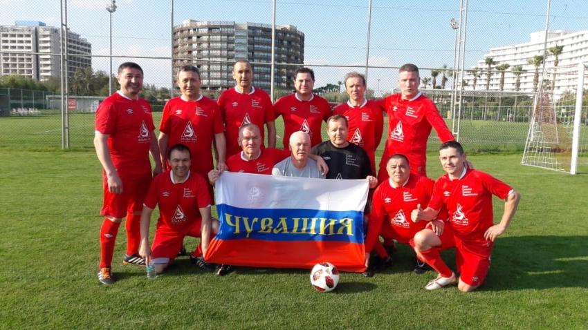 Ветераны СССР в Анталии