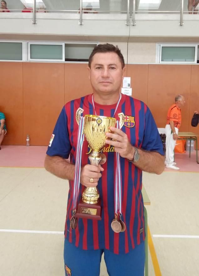 Дмитрий Володарский - бронзовый призер Кубка Европы по футзалу 2019 года