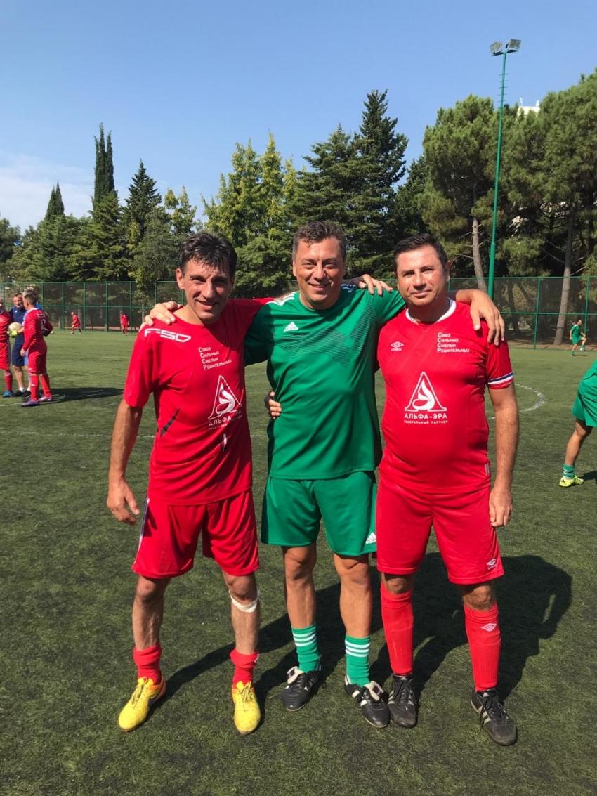 Игроки СССР с Валерием Шмаровым