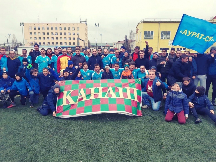 Локомотив Канаш победитель первого дивизиона сезона 2019 года