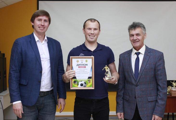 Алексей Кириллов лучший полузащитник чемпионата Чувашии 2019 года