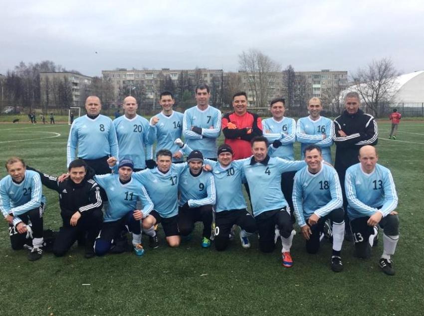 Волга ветераны чемпион 2019 года среди ветеранов