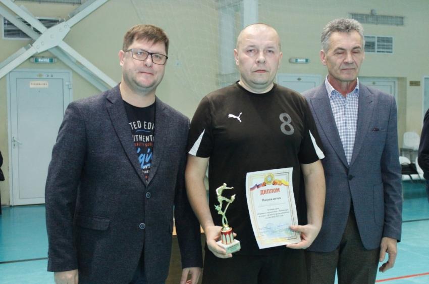 Алексей Иванов - лучший игрок первенства Чувашии по мини-футболу среди ветеранов 2019-20 гг