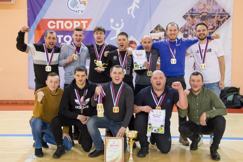 ГАИ GreenGo чемпион Чувашии по мини-футболу 2019/20 гг