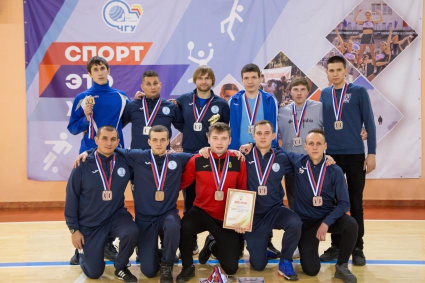 Эврика-ЧГУ серебряный призер чемпионата Чувашии по мини-футболу 2019/20 гг