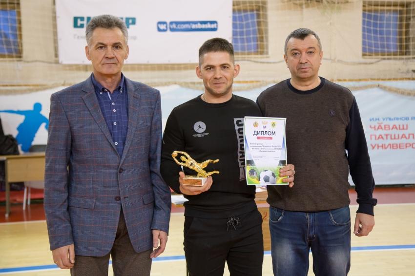 Максим Судаков лучший вратарь чемпионата Чувашии по мини-футболу 2019/20 гг