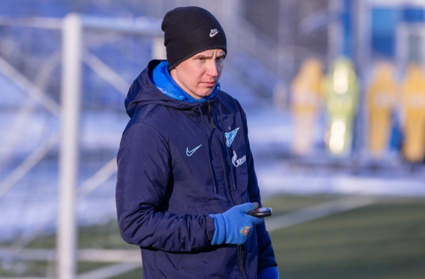 Евгений Портнов подписал контракт с питерским Зенитом