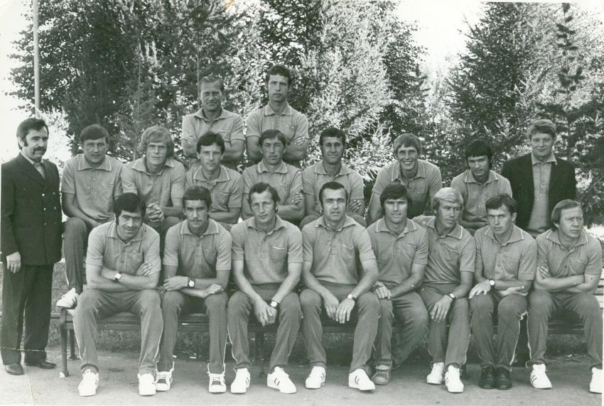 Сталь Чебоксары перед поездкой в Венгрию в 1975 году