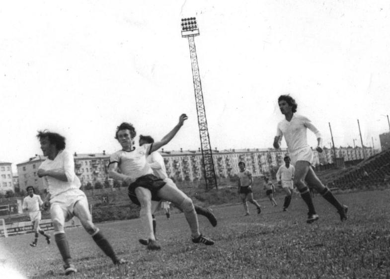 Виктор Баранов и Сергей Иванов в игре