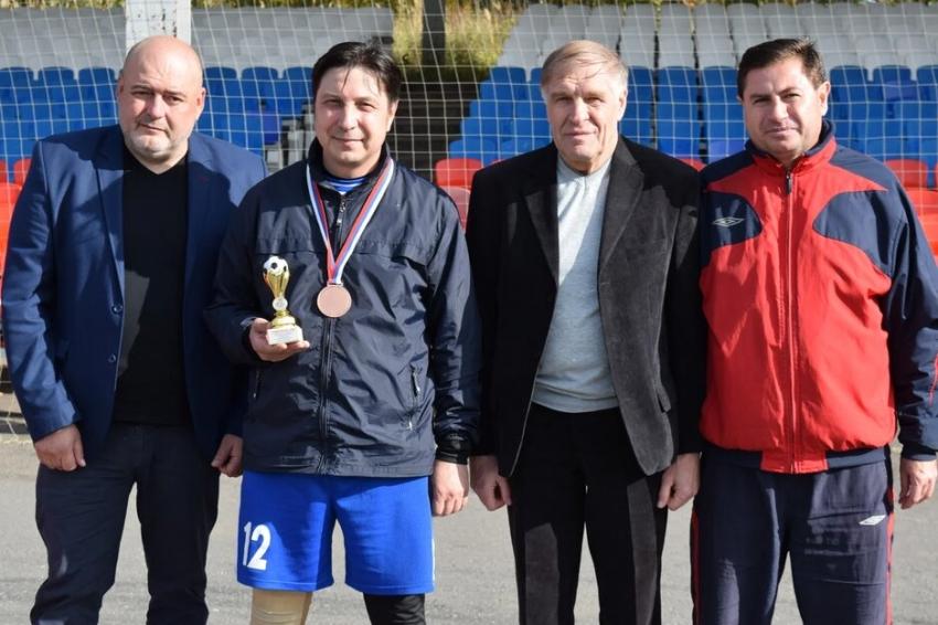 Валерий Орлов Сталь Чебоксары лучший полузащитник турнира памяти Червякова 2020 год