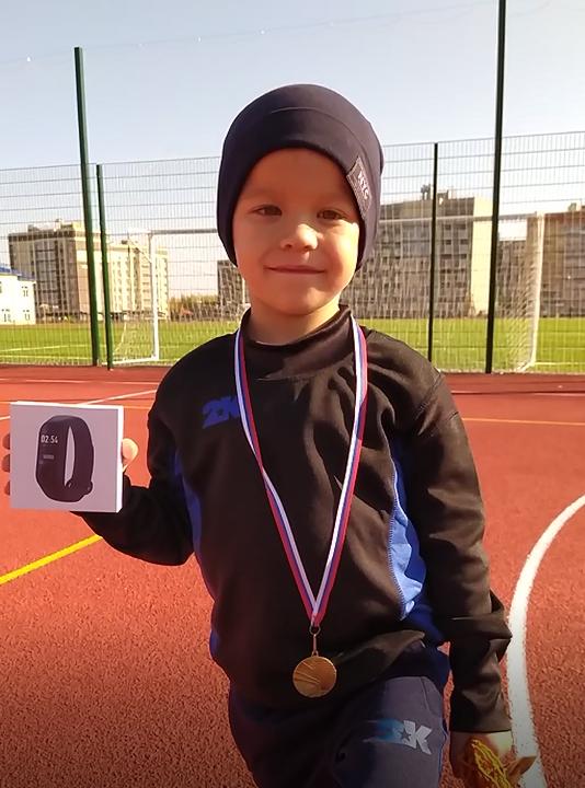 Максим Сердюков победитель турнира 1 на 1 среди первоклассников