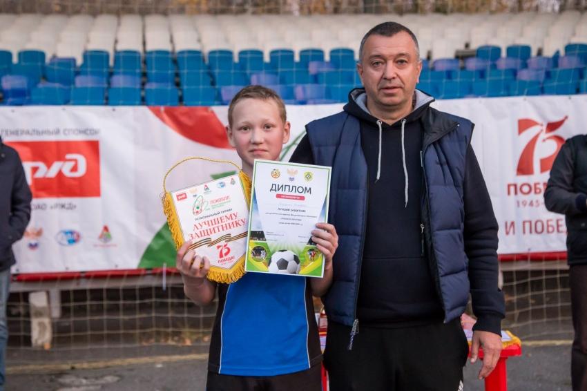 Дружинин Дмитрий СШ-2008 лучший защитник турнира Локобол-2020 в Чебоксарах