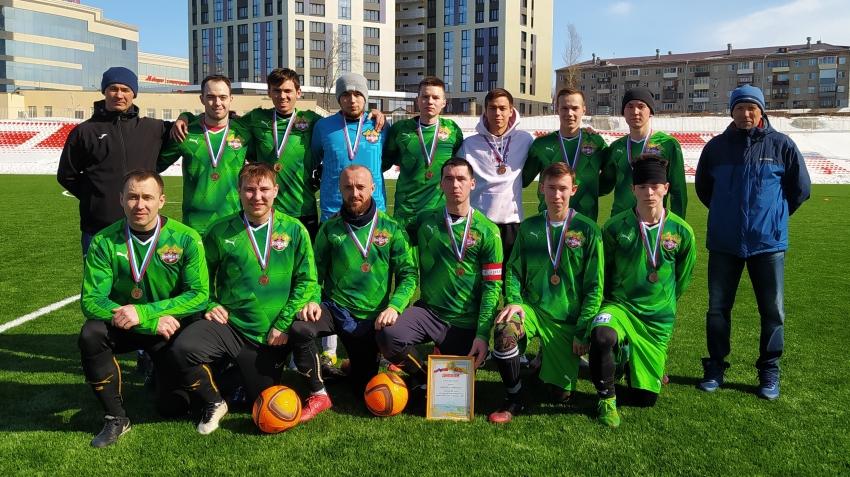 Бомик Цивильск бронзовый призер зимнего Первенства города Чебоксары 2021 года