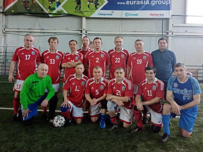 Волга старше 60 лет на турнире в Иваново