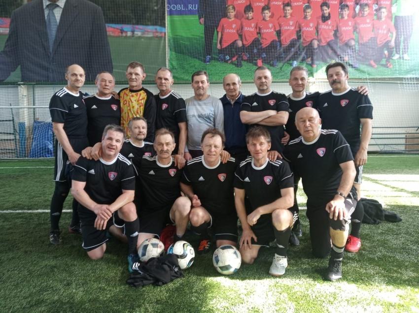 команда Московия старше 60 лет на турнире в Иваново