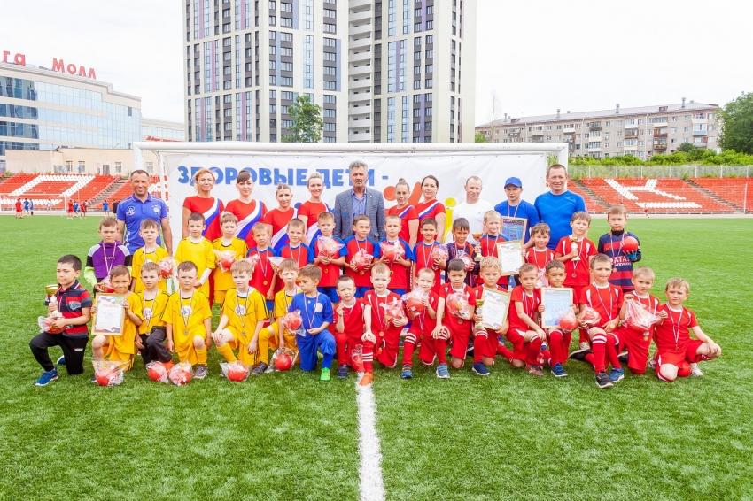 Футбольная лига дошколят 2021 Чебоксары