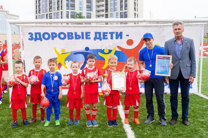 Команда дошколят Созвездие детский сад №7