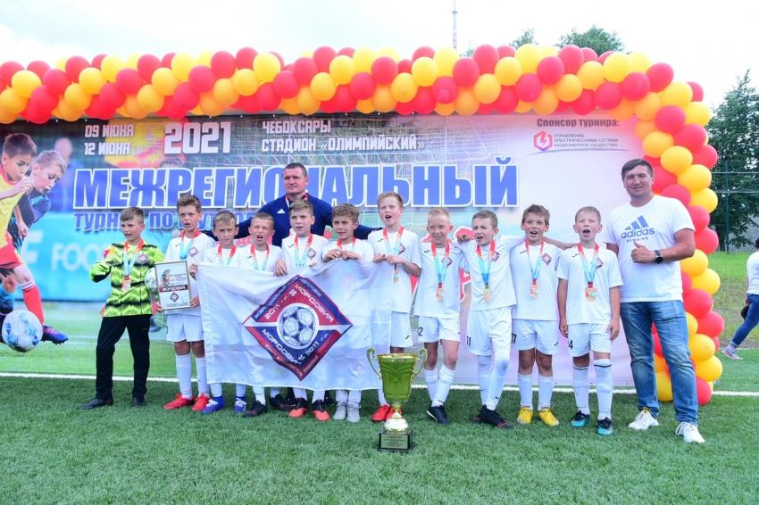 Мордовия футболисты 2011 года рождения