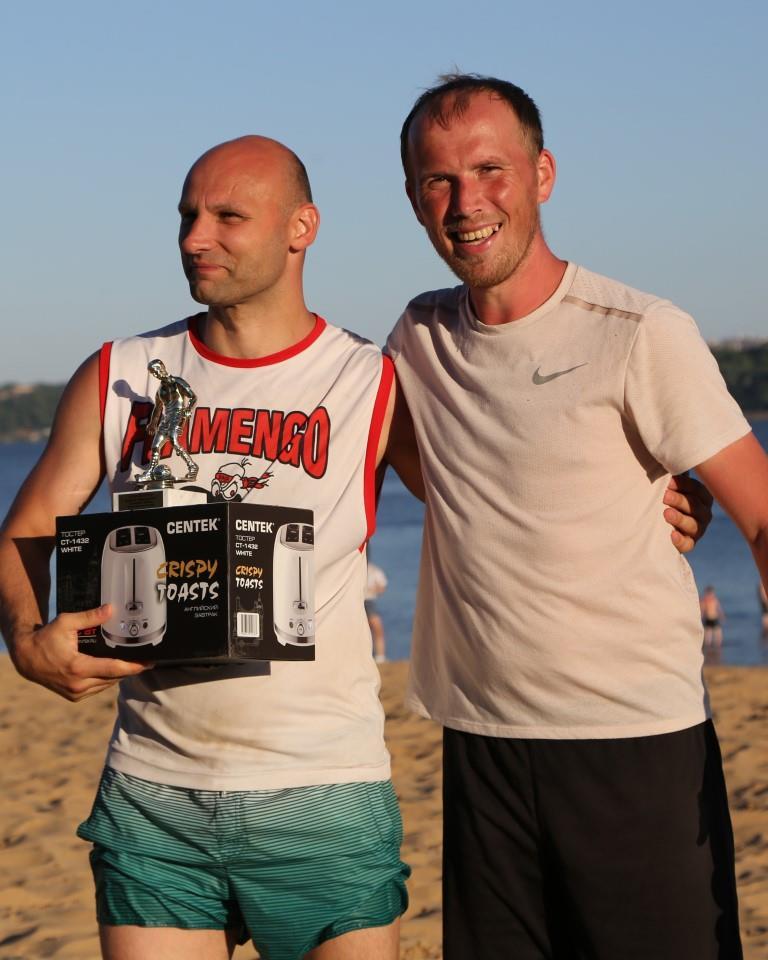 Панферов Дмитрий лучший игрок Открытого первенства города Чебоксары по пляжному футболу 2021 года