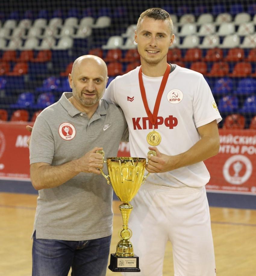 Лесин Алексей и Бесик Зоидзе на турнире Таланты России 2021 года