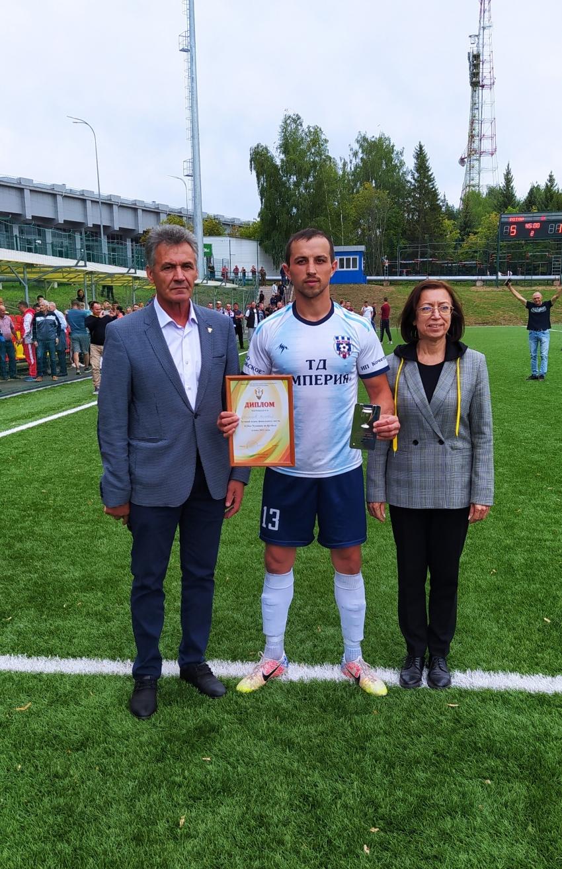 Матвей Цветков лучший игрок Кубка Чувашии 2021 года
