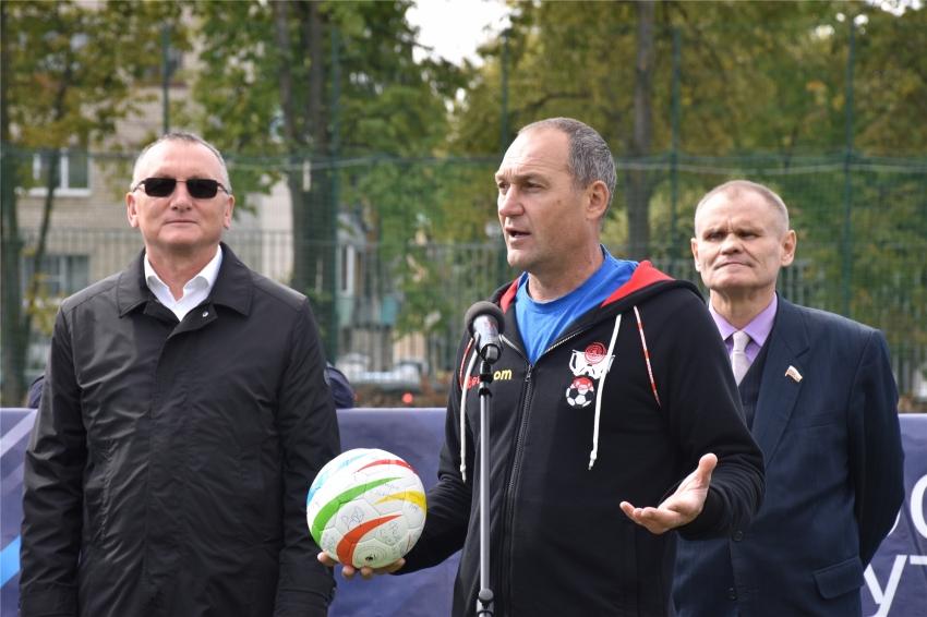 открытие клубного чемпионата Европы по футболу 5Х5 среди тотально слепых